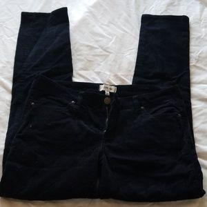 I Love H81 Womens Blue Corduroy pants